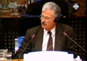 Hasan Pruhti svedoči o upadu policije u Đakovicu (ICTY TV, 04.03.2002.)