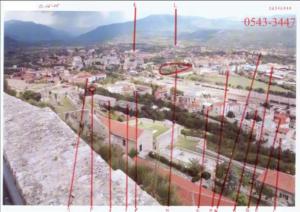 Panoramska fotografija Knina pred akciju Oluja 1995 (ICTY TV, 2008)
