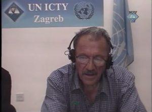 Milan Ilić svedoči o akciji Oluja u Donjem Lapcu (ICTY TV, 2008)