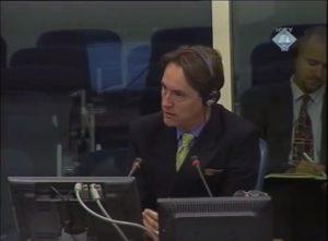 Ričard Linton (Richard Lyntton) svedoči o zločinima u Oluji 1995 (ICTY TV, 2008)