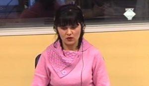 Jasna Denona na suđenju Milanu Martiću (ICTY TV - 2006)