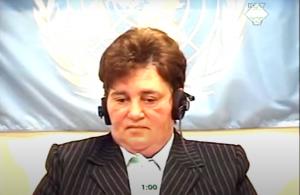Marica Vukovi iz Zagreba svedoči na suđenju Milanu Martiću ICTY TV - 2006)