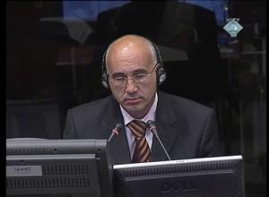 Hajrudin Karić na suđenju Radovanu Karadžiću (ICTY TV, 23.06.2011.)
