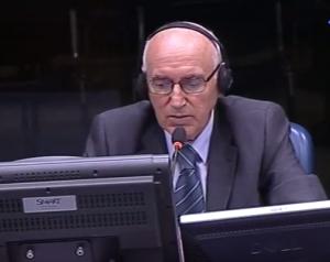 Adil Medić svedoči na suđenju Ratku Mladiću (ICTY TV, 31.08.2012.)