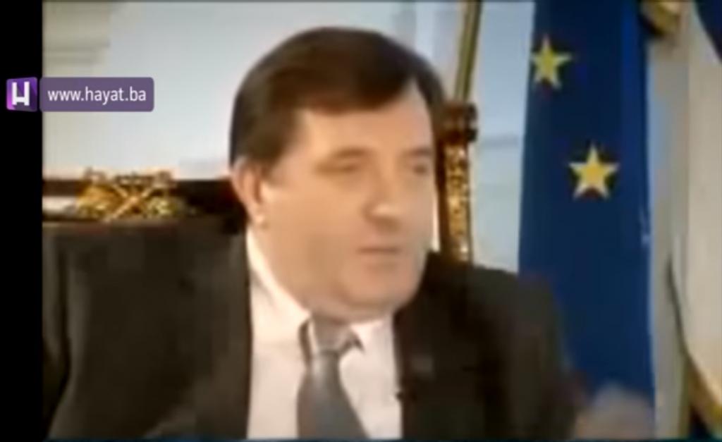 Milorad Dodik u Centralnom dnevniku sa Senadom Hadžifejzovićem (NTV Hayat - 02.12.2007)