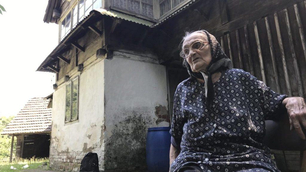 Anica Sladojević (95) iz Glinskog Trtnika (Foto: BIRN)