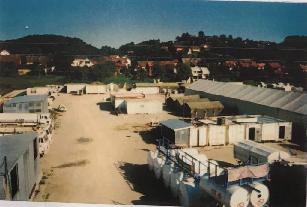 Danish base in Dvor, Croatia, 1995. Source: Danish State Attorney.