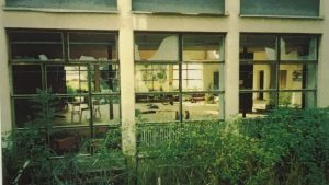 The school in the Croatian town of Dvor where the massacre took place in 1995. Source: Danish State Attorney.