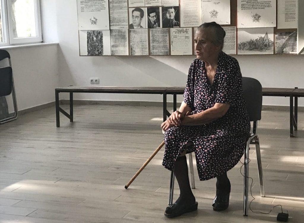 Dušanka Dubajić (88) iz Donje Suvaje, Hrvatska (Foto: BIRN)