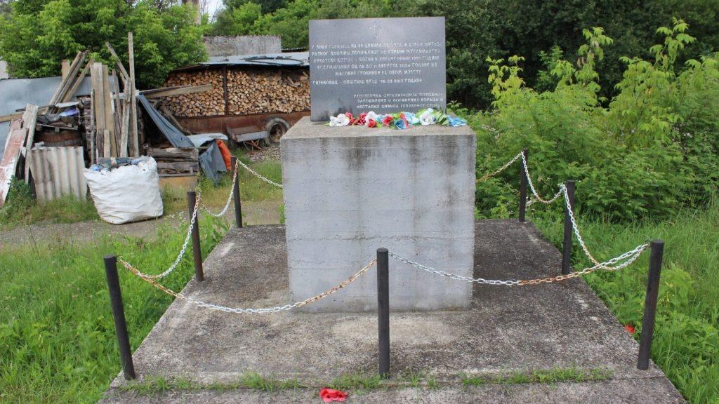 Memorial for the victims in Sijekovac. Photo: Vladimir Susak/BIRN