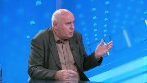 Žarko Puhovski u Studiju uživo TV N1 (Izvor: n1info.com)