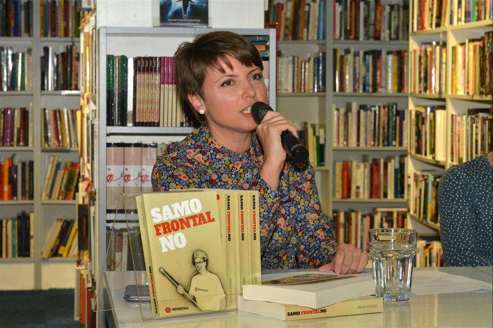 Aneta Vladimirov: Ko ima pravo da se sjeća, taj ima i moć (foto: SKD Prosvjeta/Facebook)