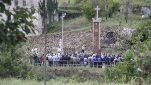 Комеморација за жртвите на масакрот во Грабовица. Фото: Денис Капетановиќ