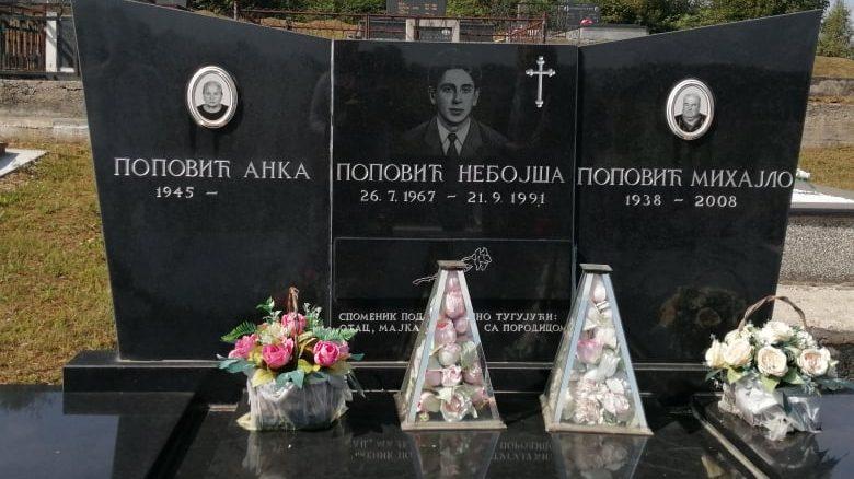 Varri i një prej ushtarëve të vrarë. Foto: Aneta Vladimirov. Foto: Aneta Vladimirov.